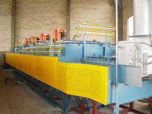 无马弗网带式淬火炉热处理生产线