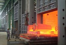 12×3m高温台车式燃气炉