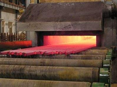 棍底式隧道炉----管材